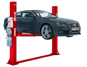 4 TONNE 2 POST LIFT MANUAL RELEASE